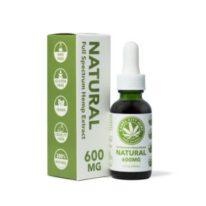 Full Spectrum Hemp Extract 600 Natural