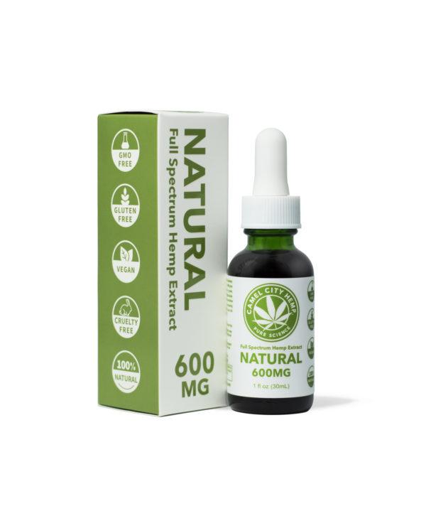 Full Spectrum Hemp Extract 600 Natural